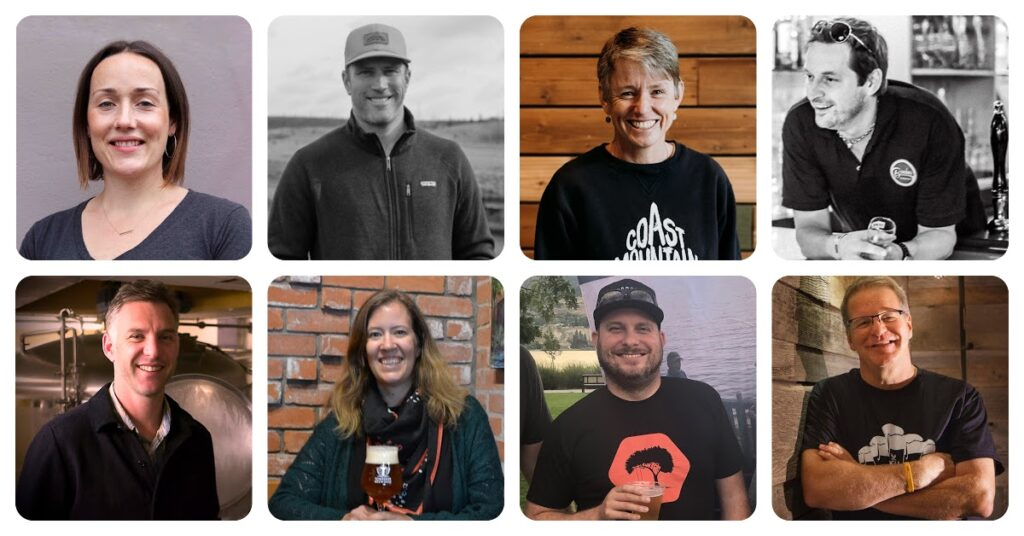 BC Craft Brewers Guild Board 2021-23